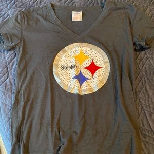 Victoria's Secret Bling Steelers Shirt